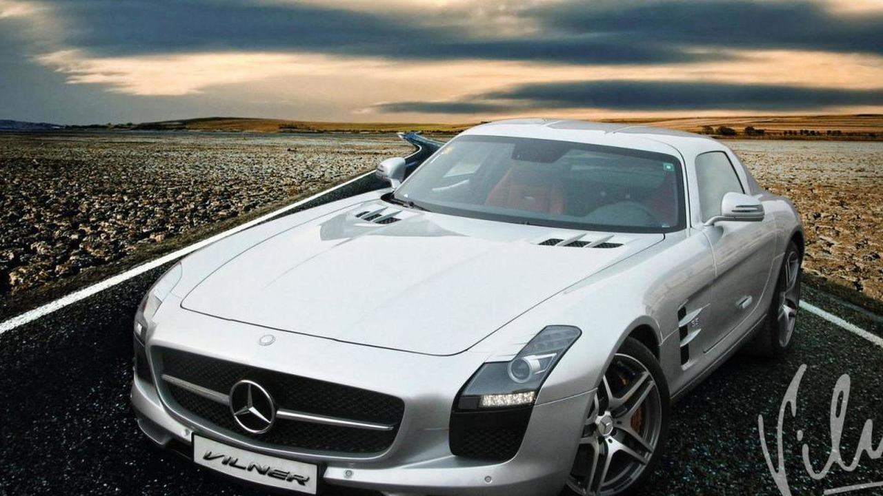 Mercedes SLS AMG by Vilner 08.1.2013