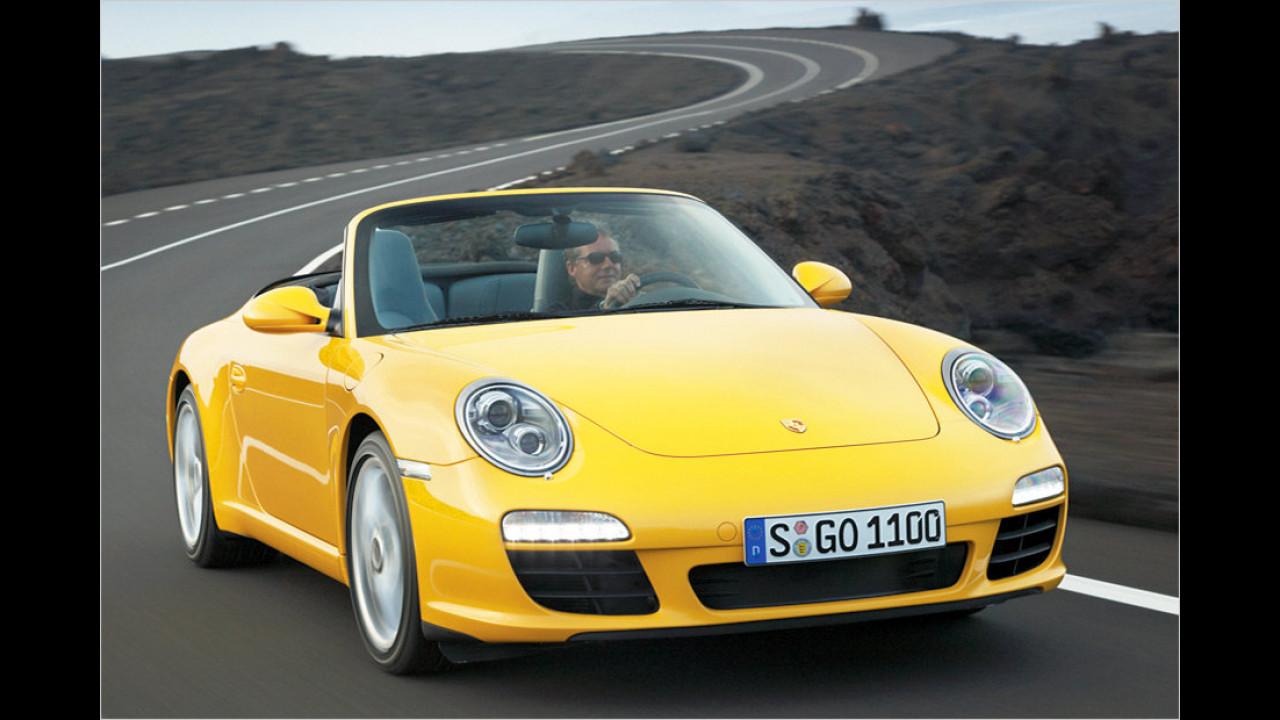 Porsche 911 Cabriolet (997; 2004-2012)