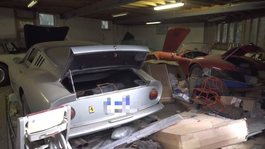 27 yıl garajda yatan Ferrari 275 GTB ve Shelby Cobra'yı izleyin