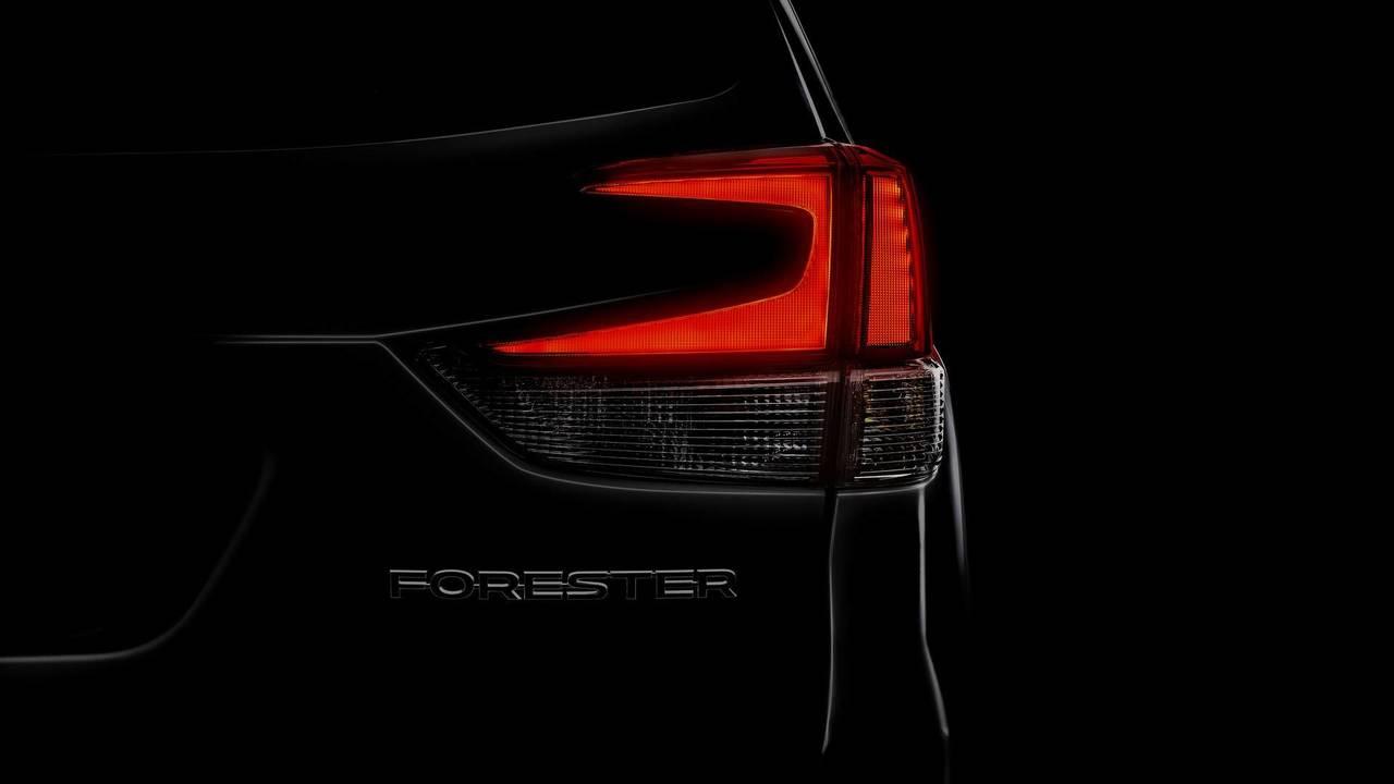 Subaru Forester 2019 teaser