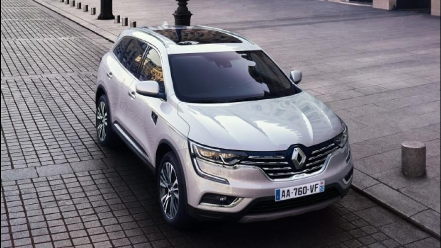 Renault Koleos Initiale Paris, in Europa al top