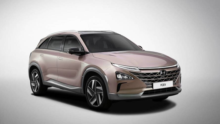 Nouveau véhicule à hydrogène Hyundai