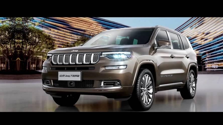 Jeep Grand Commander'ın ilk resmi teaser'ı yayınlandı