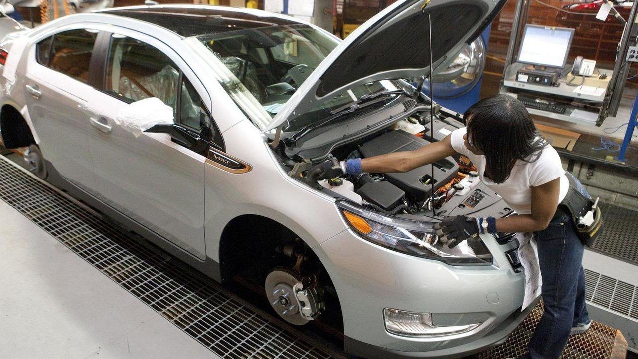 GM Chevy Volt production 19.05.2011