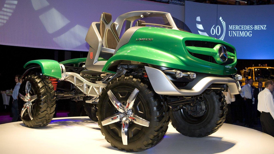 Mercedes Unimog Design Concept revealed - poison dart frogs rejoice