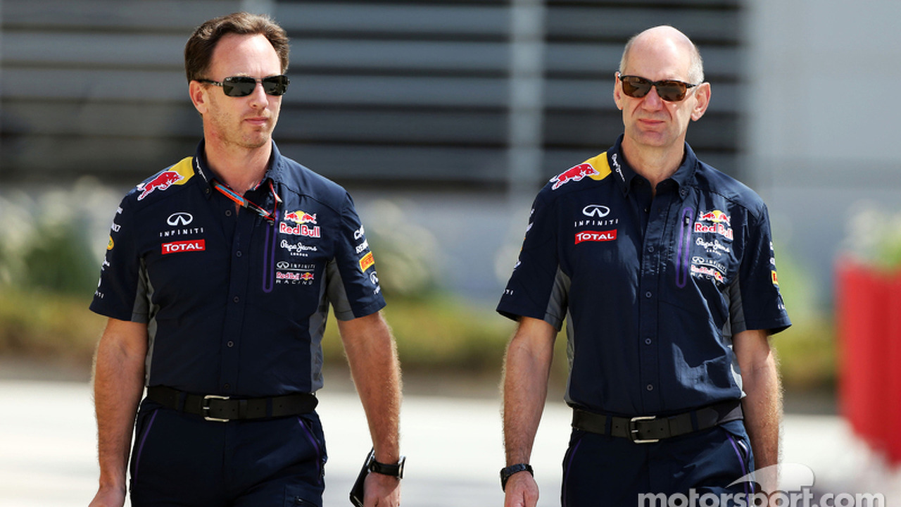 Christian Horner, Red Bull Racing Team Principal with Adrian Newey, Red Bull Racing Chief Technical Officer