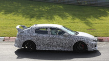 Next generation Honda Civic Type R spy photo