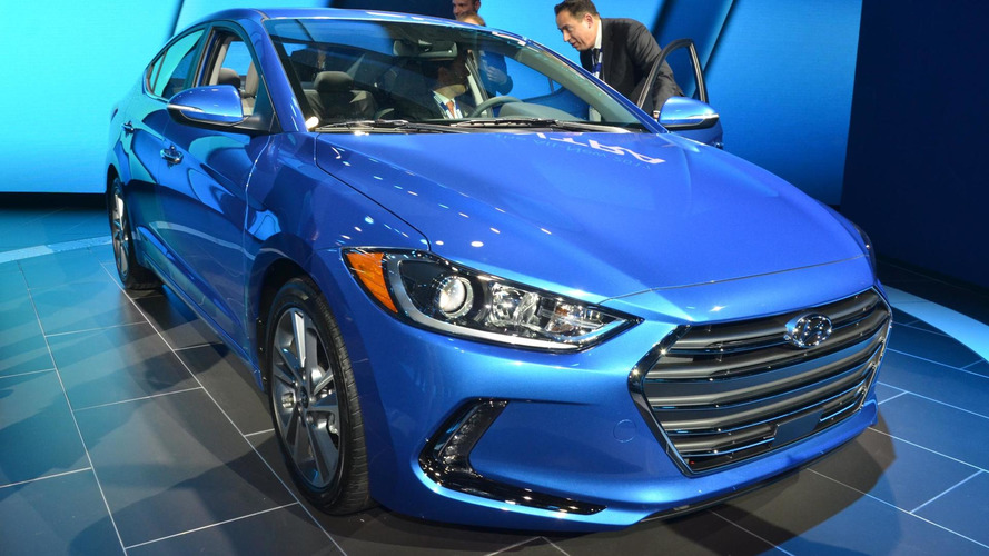 Hyundai reveals US-spec Elantra with 1.4 turbo engine