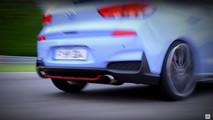 Hyundai i30 N 2017 teaser