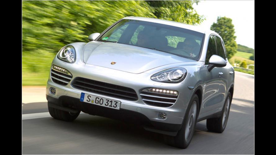 Neues Modelljahr: Porsche überarbeitet den Cayenne