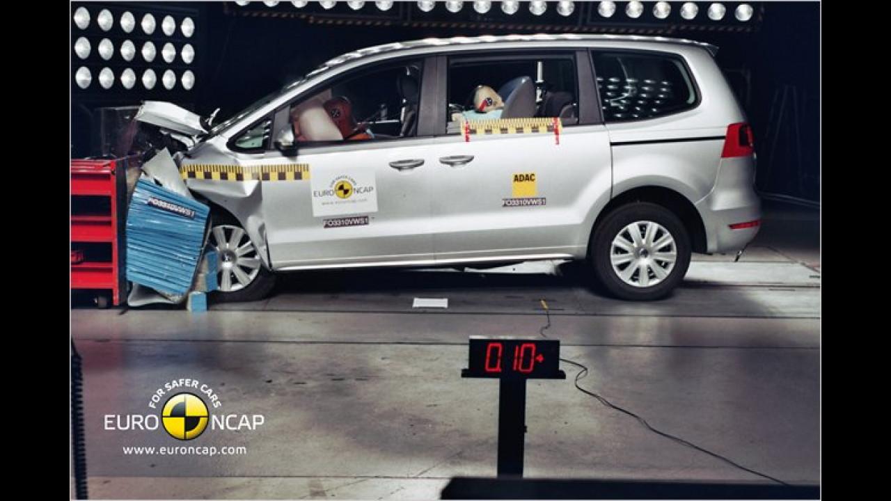 Ebenfalls sehr gut bewertet: VW Sharan/Seat Alhambra