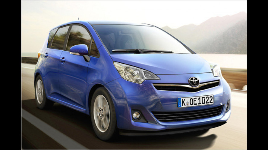 Toyota Verso-S: Die Preise beginnen bei 14.950 Euro