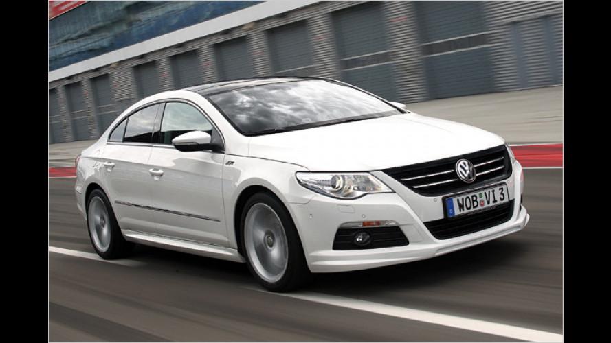 VW Passat CC jetzt mit R-Line-Ausstattung bestellbar