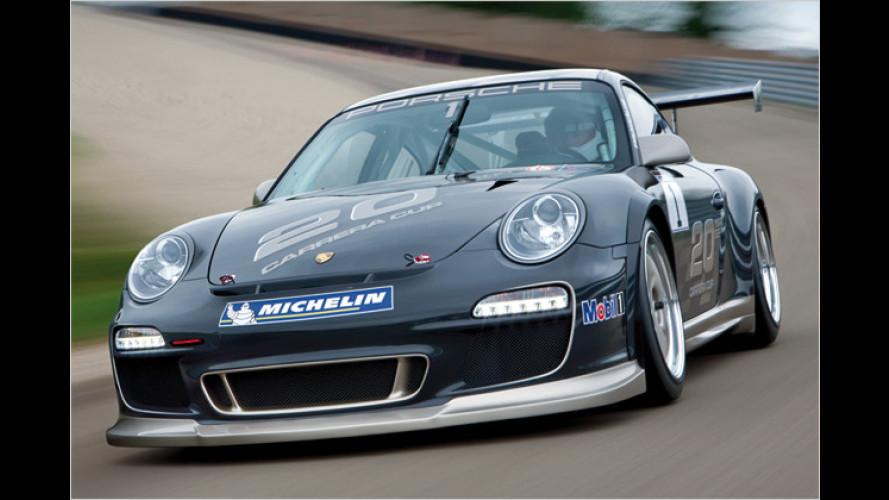 Der neue Porsche 911 GT3 Cup: Stärker, breiter, schneller