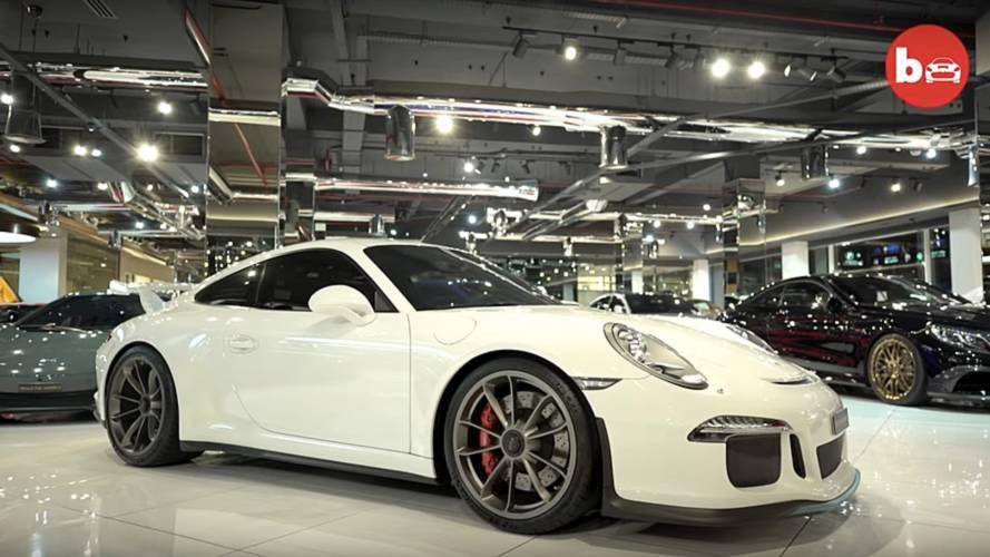 $45 Million Worth Of High-End Cars In Dubai
