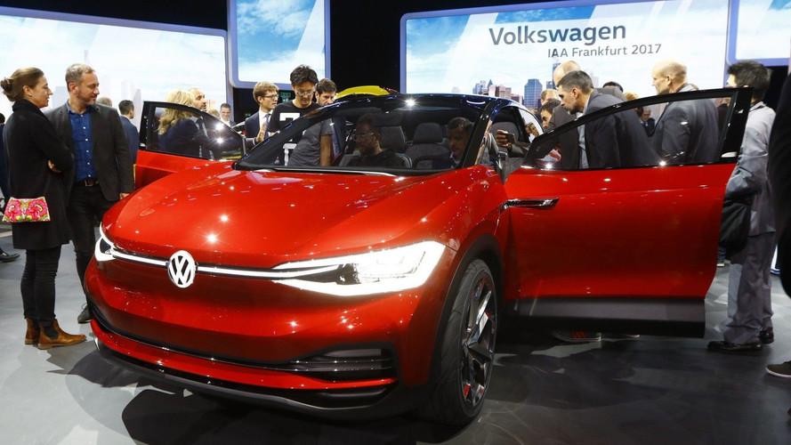 VIDÉO - Le Volkswagen I.D. Crozz à Francfort
