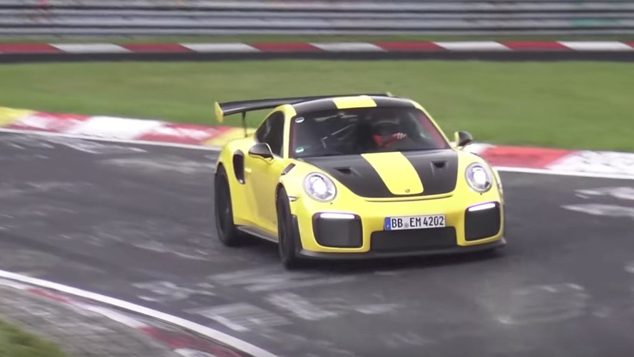 Porsche 911 GT2 RS Allegedly Laps Nürburgring In Under 7 Minutes