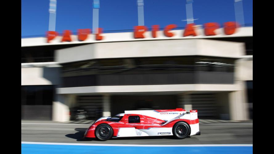Buemi alla Le Mans sulla Toyota ibrida
