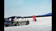 Jaguar XF-R: sul Gran Lago Salato a 363 km/h