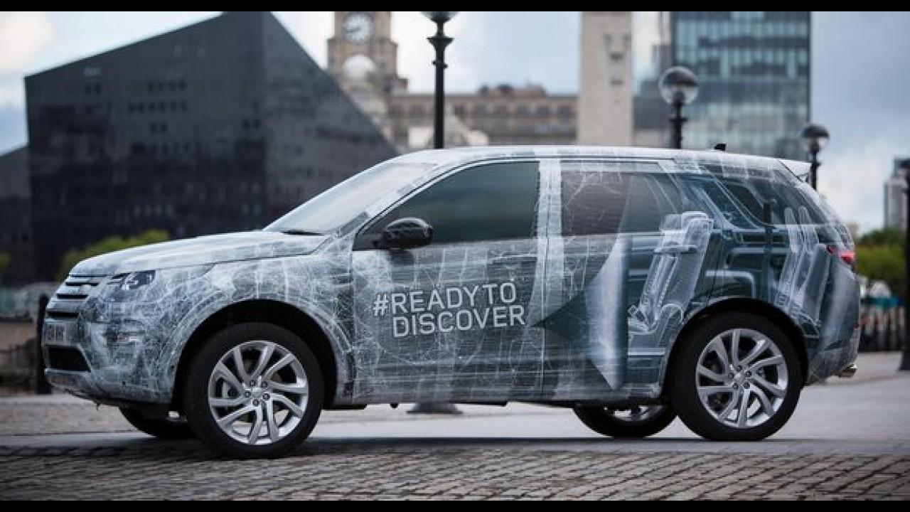 Vídeo: novo Discovery Sport será apresentado no dia 3 de setembro
