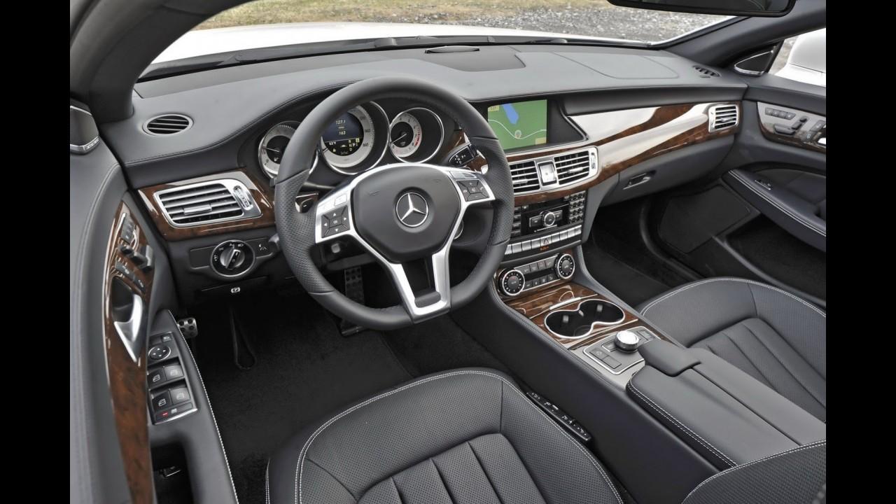 Mercedes CLS estreará novo câmbio de nove marchas nos EUA
