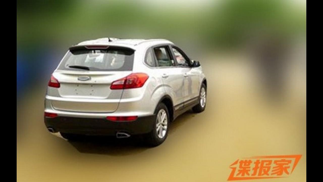 Novo Chery Tiggo 5, cotado para o Brasil, é flagrado em testes na China