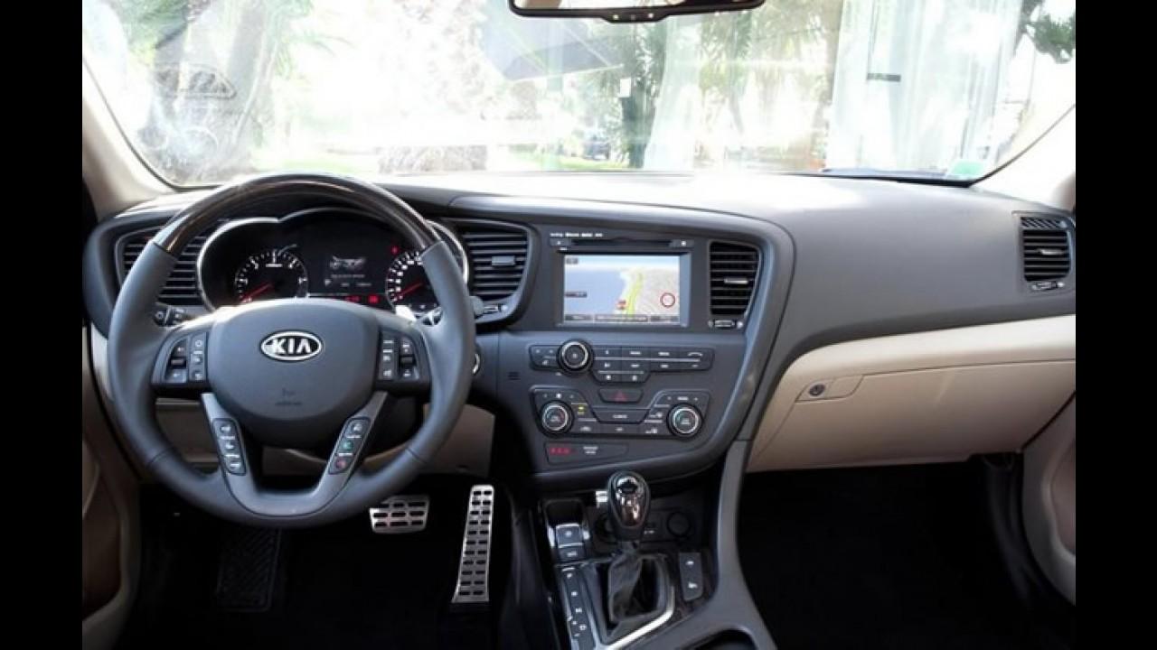 Kia Optima 2012 é lançado na Europa