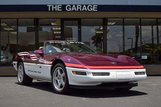 1995 Corvette Pace Car Comes With a Matching Go-Kart, Scale Model