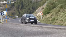 2018 Volvo XC40 screenshot from spy video