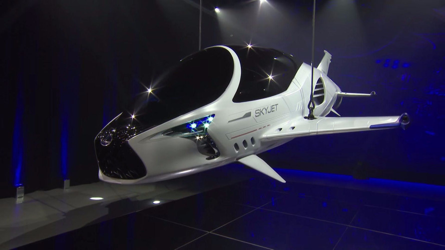 Lexus Goes Sci-Fi With Skyjet Teasers Ahead Of July Film Debut