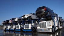 Shipping cars