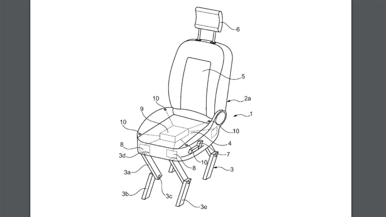 Ford Walking Patent