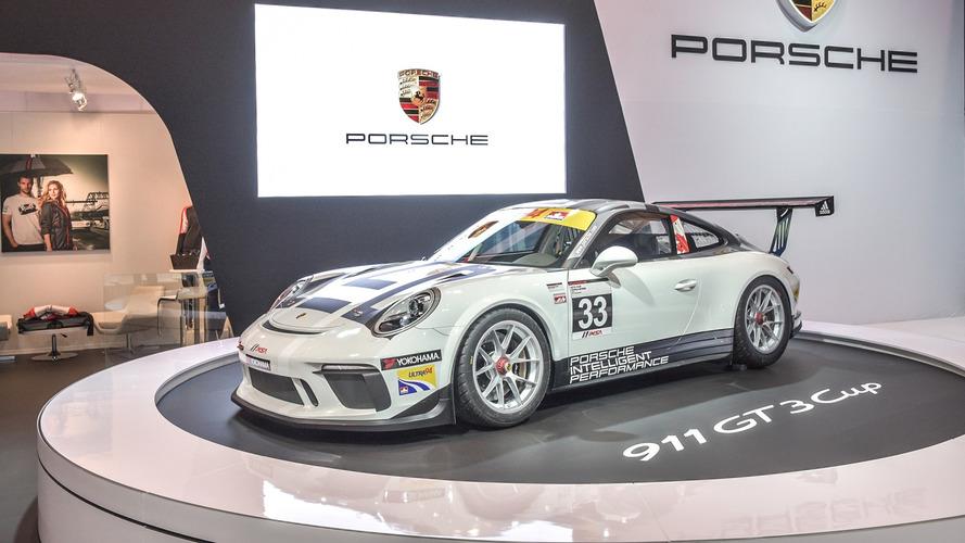 Porsche Canada unveils new GT3 Cup car for 2017
