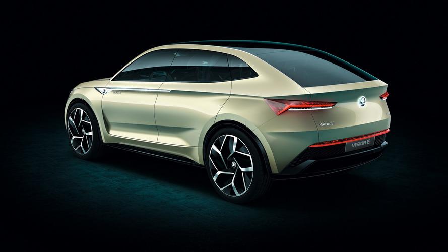 La familia eléctrica de Skoda incluirá un compacto, un SUV cupé y un deportivo