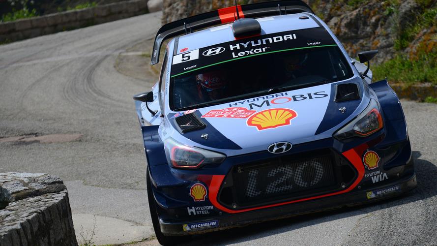 PHOTOS - Thierry Neuville et Hyundai en tête du Tour de Corse