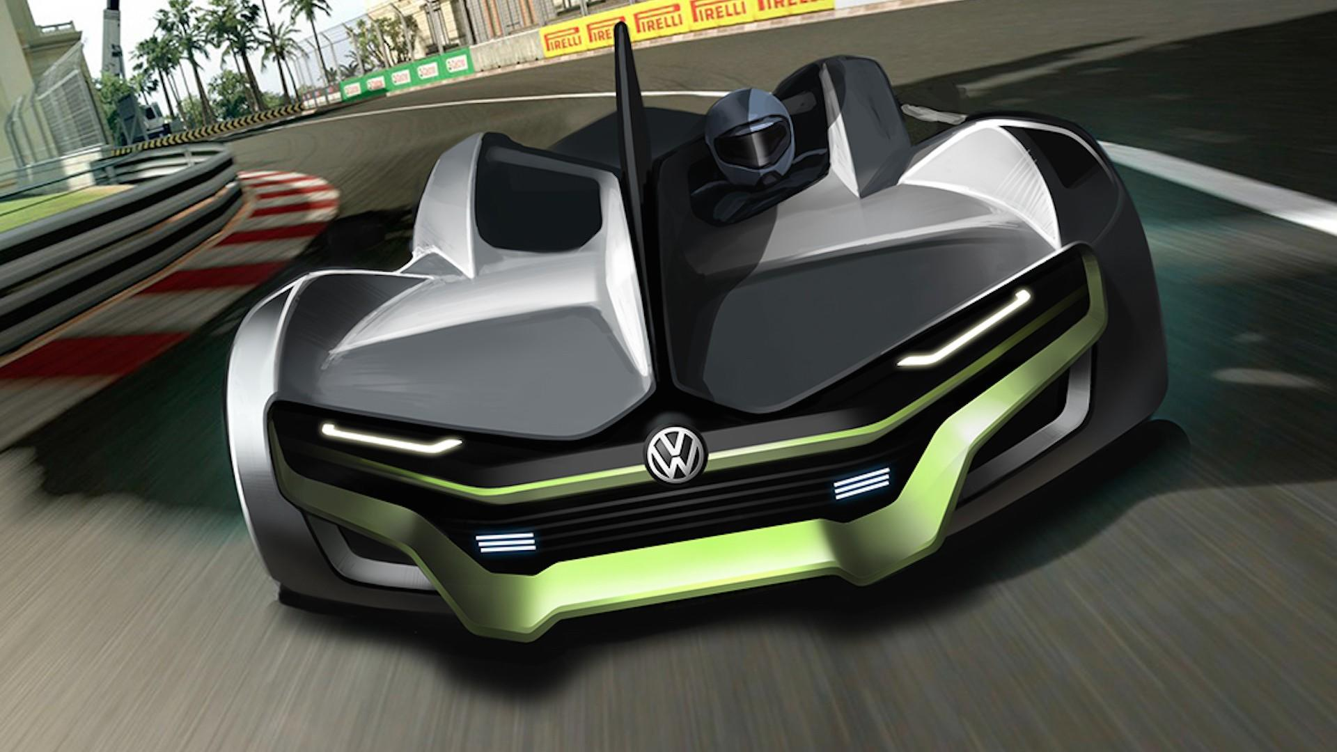 2023 vw sports car rendering looks ready for the track. Black Bedroom Furniture Sets. Home Design Ideas