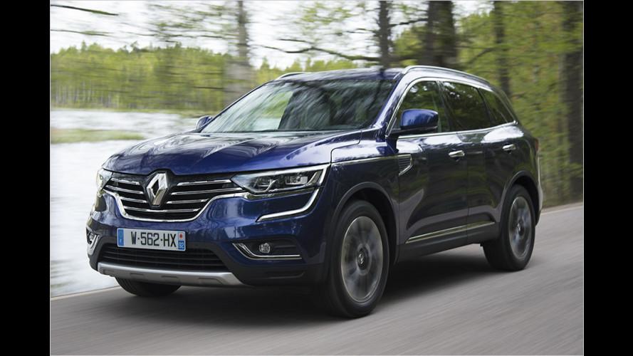 Unterwegs im neuen Renault Koleos