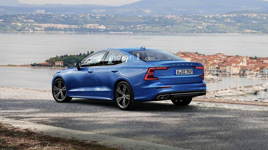 Volvo S60 Leaked Image Leads To Handsome High-Res Render