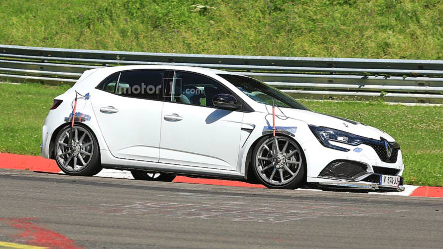 Renault Mégane RS Trophy Spied Performance Testing At Nürburgring