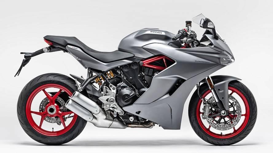 La Ducati SuperSport, ahora también en gris titanio