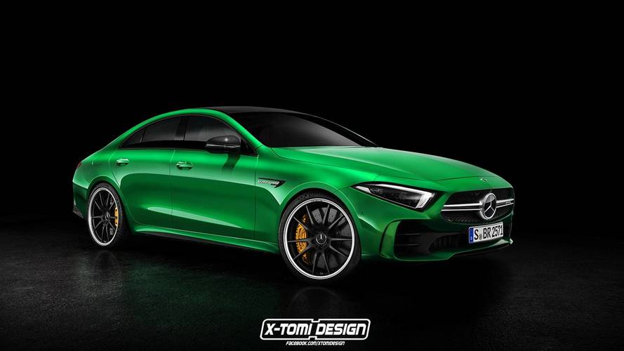 Rendus Mercedes-Benz CLS 2018