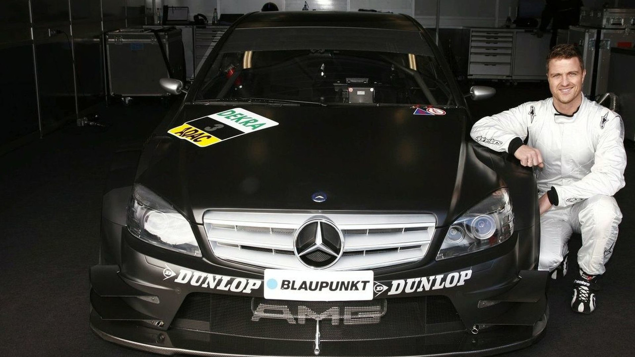 Ralf in his new DTM car - Jan 2008