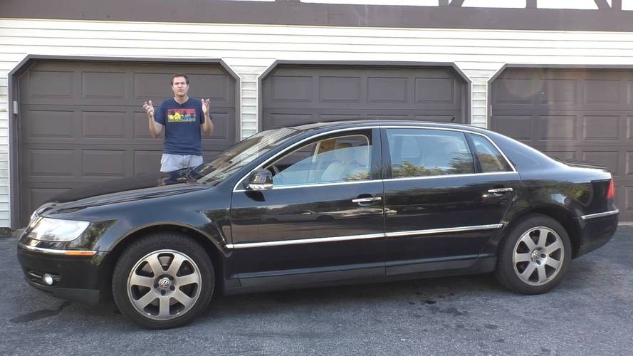 Looking Back At The $120,000 VW Phaeton