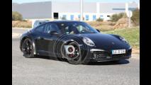 Nuova Porsche 911, prime foto spia