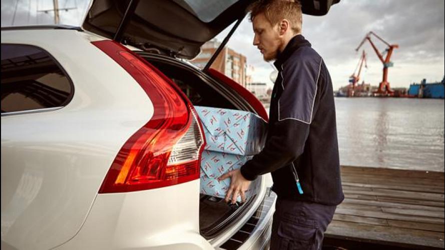 Black Friday, in Svezia chi ha una Volvo si fa recapitare la merce in auto