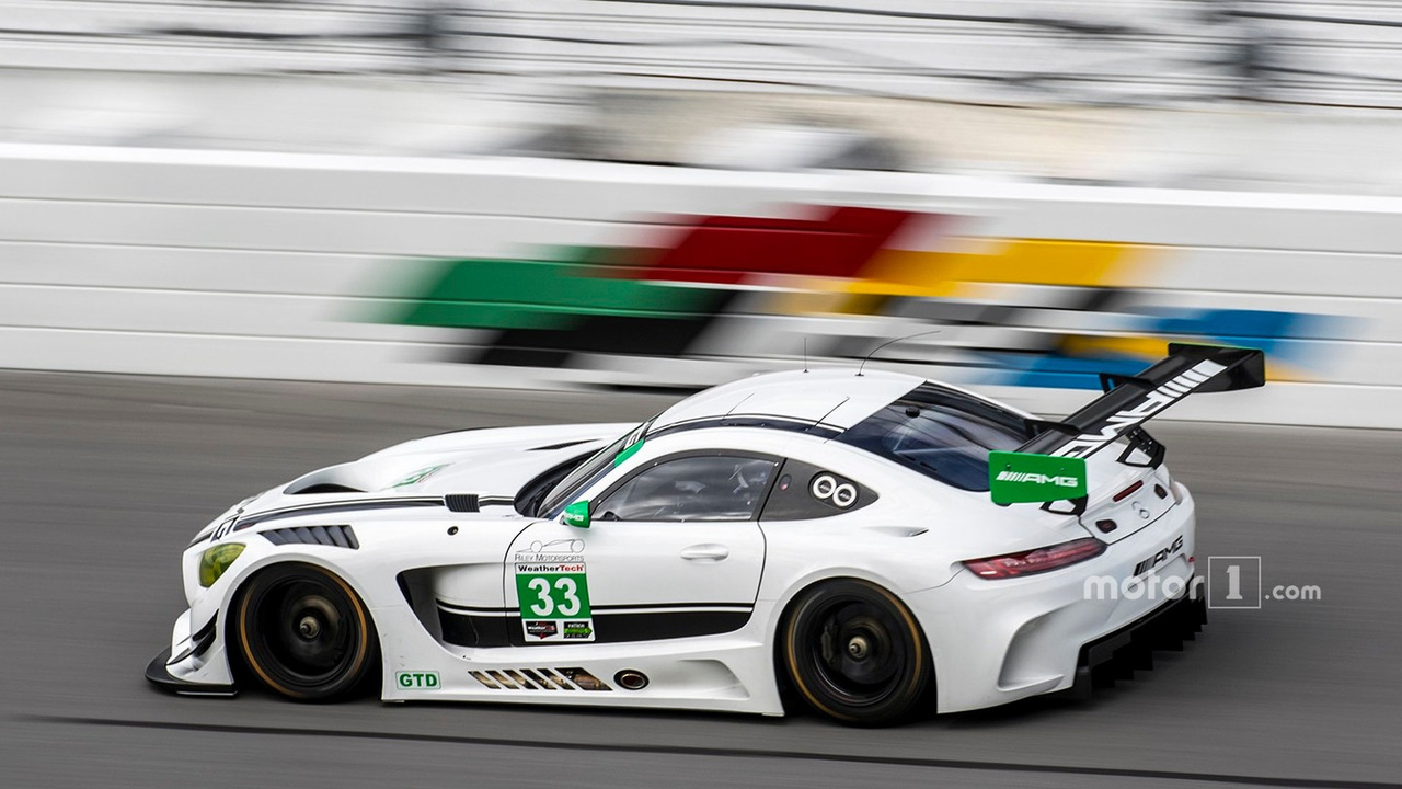 #33 Riley Motorsports Mercedes AMG GT3- Jeroen Bleekemolen