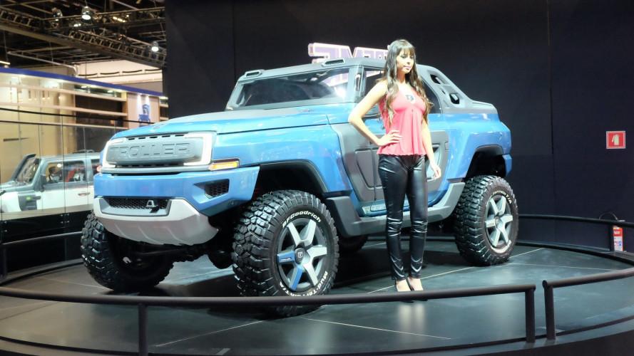 Salão do Automóvel: T4 Xtreme é um conceito Troller com toques de Bronco
