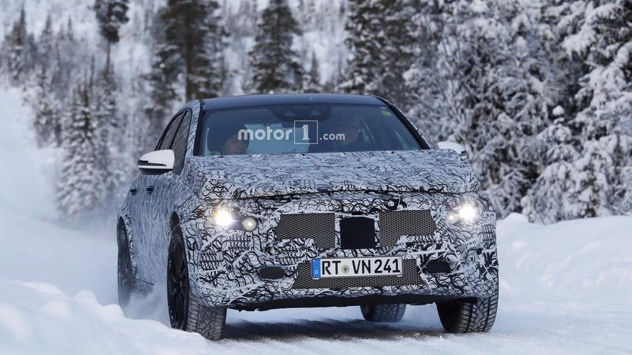 Mercedes GLA 2020 en photos espion