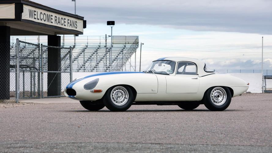 Gelmiş geçmiş en pahalı Jaguar E-Type