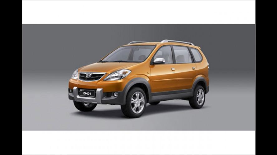 Daihatsu D-01: Minivan-Doppel für den chinesischen Markt